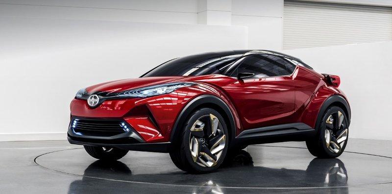 Концепт-кар Scion C-HR станет серийным в 2016 году