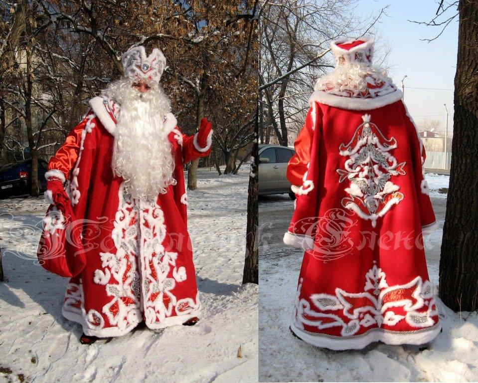 костюм деда мороза сшить картинки
