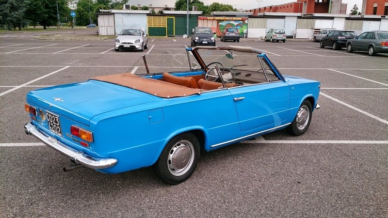 Fiat 124 Cabriolet C4 by Touring
