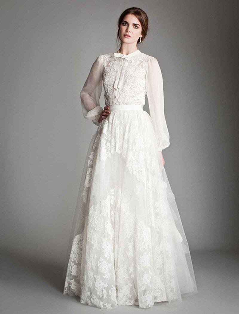 Свадебное платье в стиле хиппи фото
