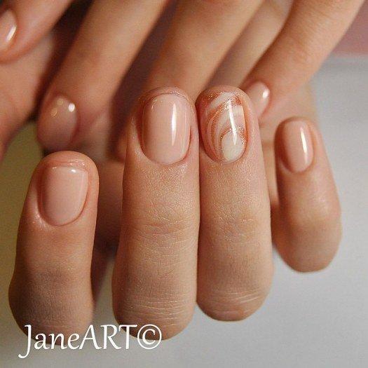 Дизайн ногтей лаками на натуральных ногтях