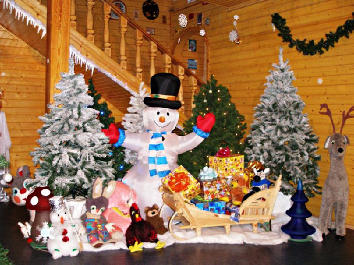 Резиденция Деда Мороза неотразима