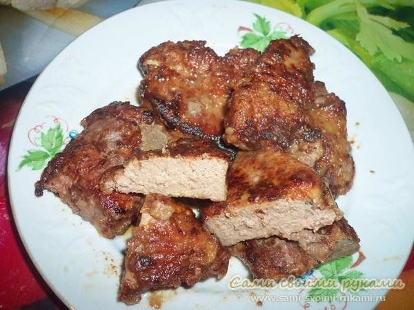 как вкусно приготовить свиную печень рецепт с фото