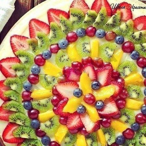 Украшение фруктовых салатов фото для школы