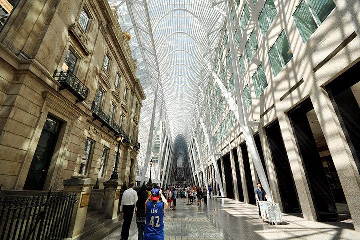 Пассаж Allen Lambert Galleria. Торонто, 1987–1992 годы