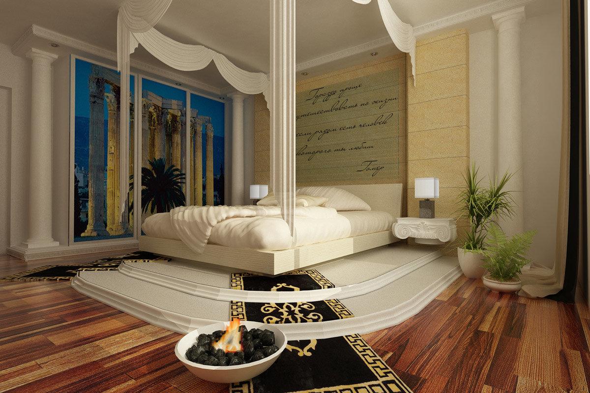 Картинки комнаты в греческом стиле