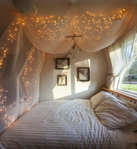 Романтичная кровать