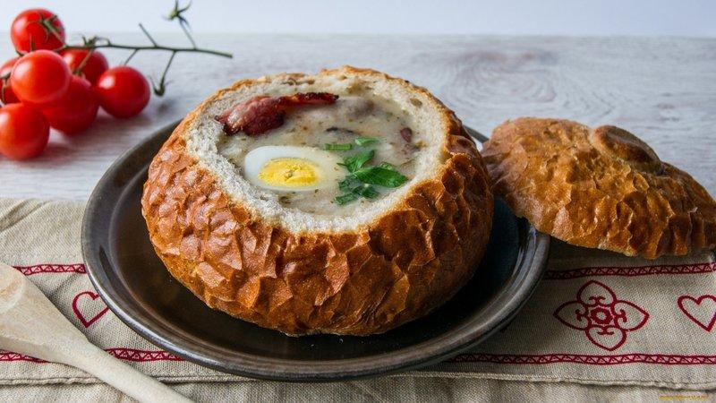 Польские супы рецепты с фото