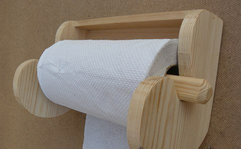 Как сделать держатель для туалетной