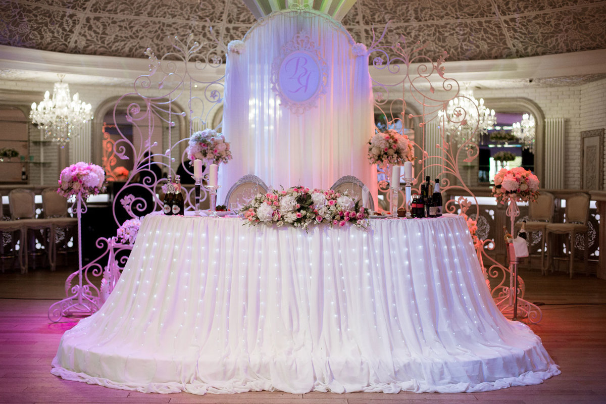 есть кого в картинках оформление зала на свадьбу неё короткие, поэтому