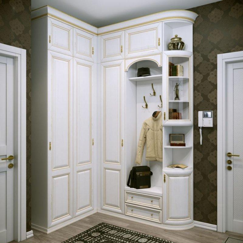 Удобный шкаф в прихожую 87