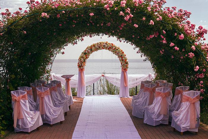 Свадебная инструкция руками пошаговая своим арка