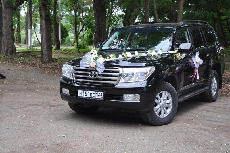 Свадебный Toyota Land Cruiser 200