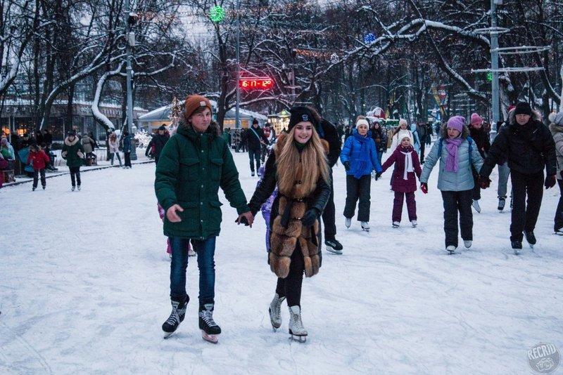 Небольшой гид по самым популярным каткам Москвы.
