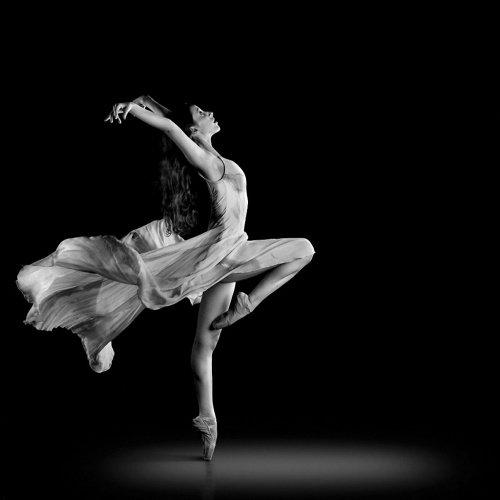 балерины черно белые картинки
