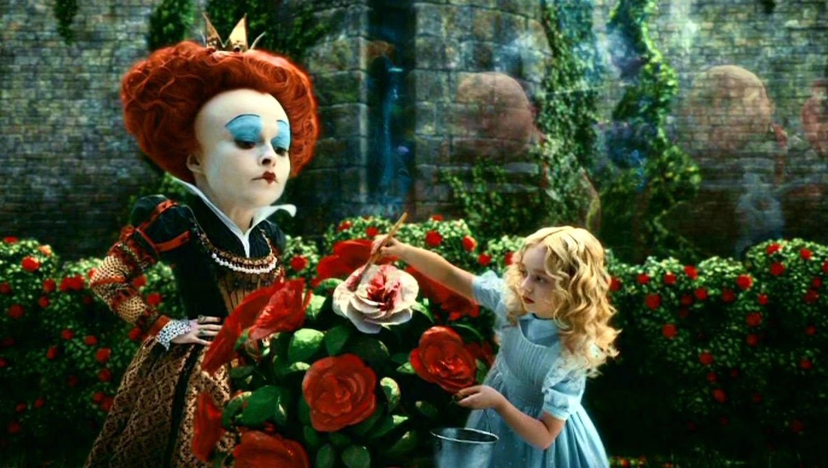 film review alice in wonderland
