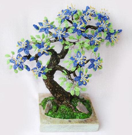 Цветы деревья бисера своими руками