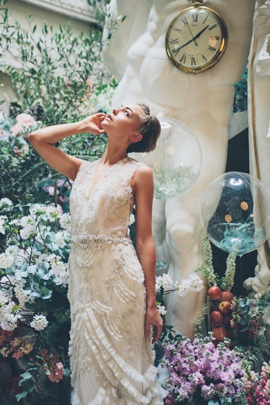 Today's shoot captured by Jessica Withey Photography is like an ode to the spring season, when nature is awakening from a long winter dream ready to bloom