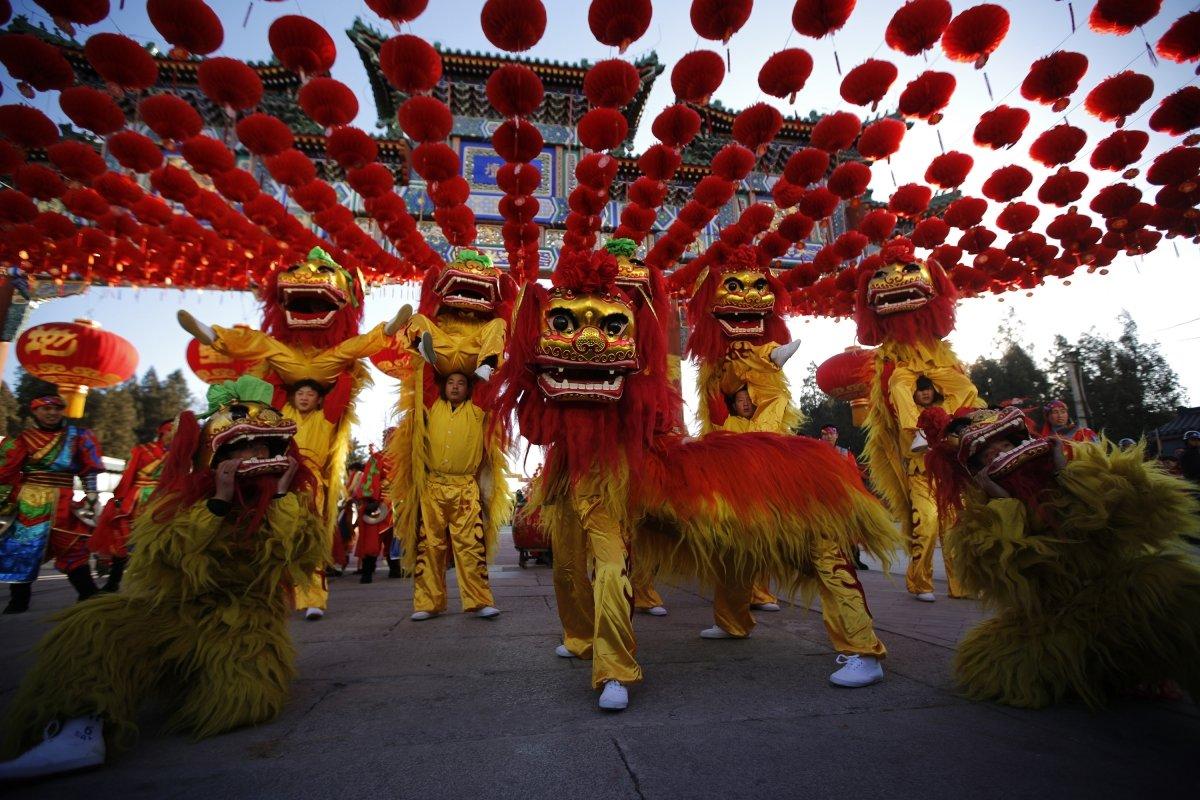 Китайские картинки на новый год