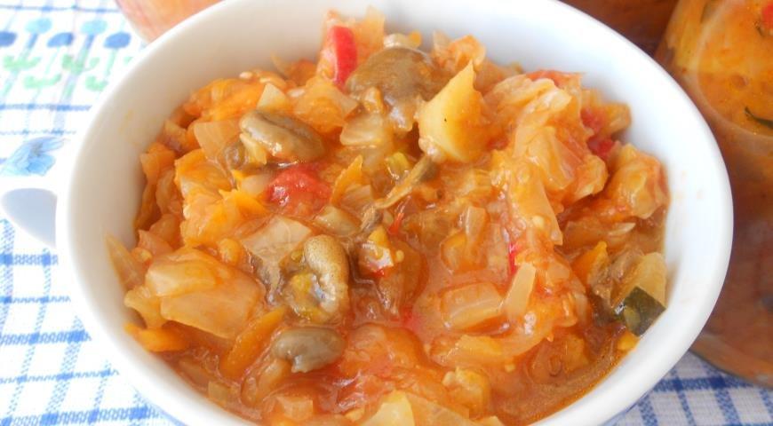 солянка с капустой рецепт с фото пошаговый рецепт