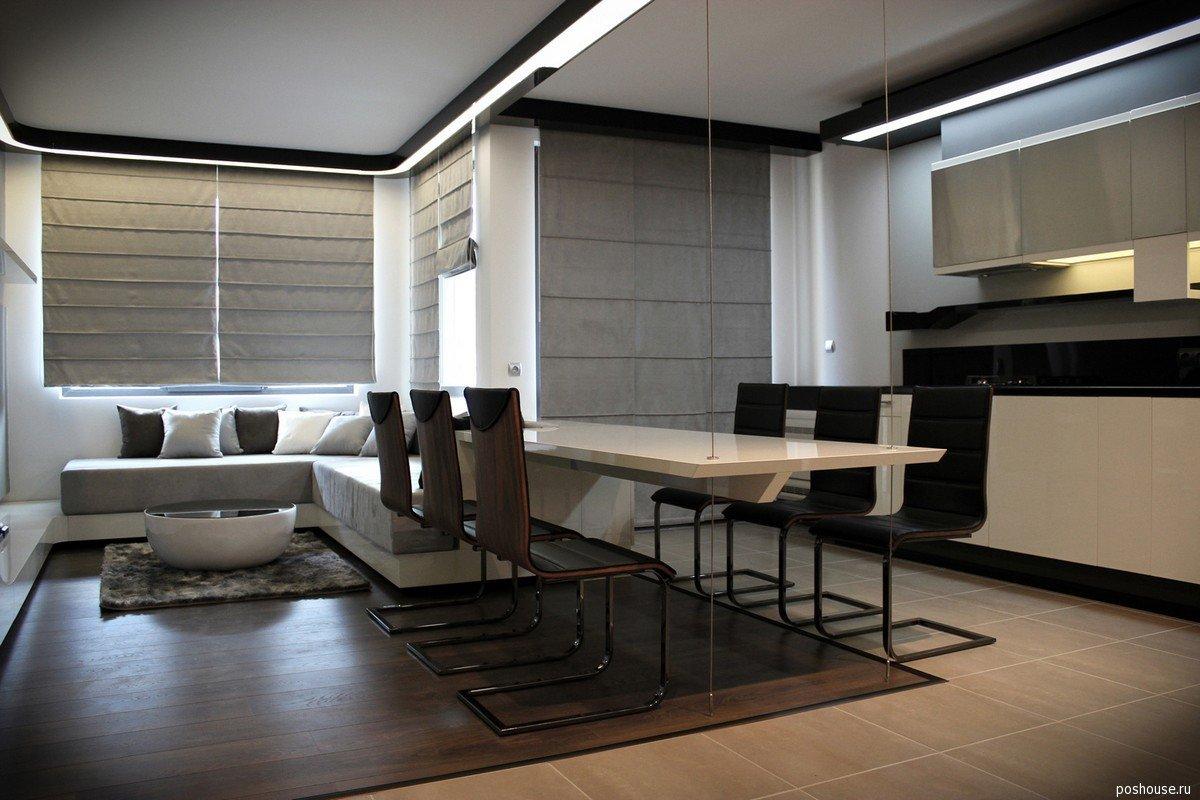 futuristic home interior