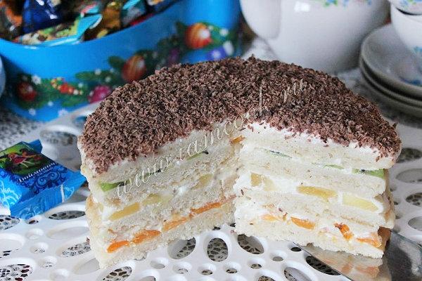 кожного покрова сметанный торт с фруктами рецепт фото крепятся