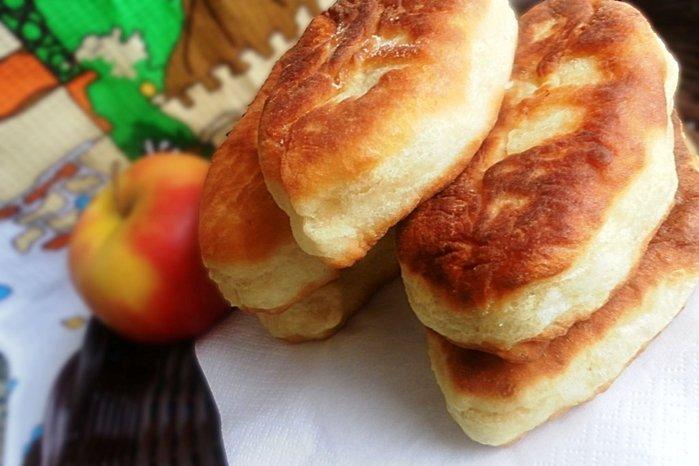 Постные пирожки с картошкой в духовке