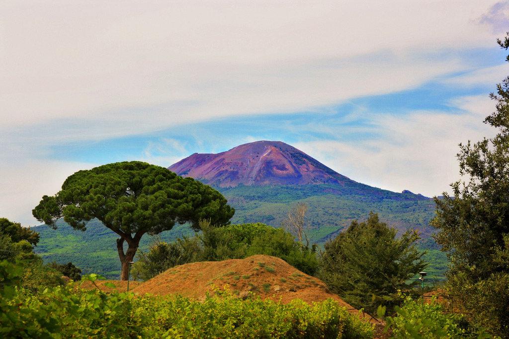 везувий вулкан онлайн