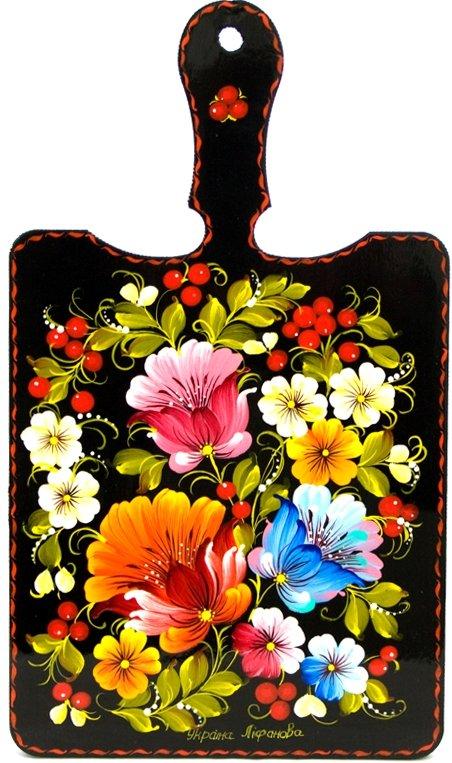 Разделочные доски цветы картинки