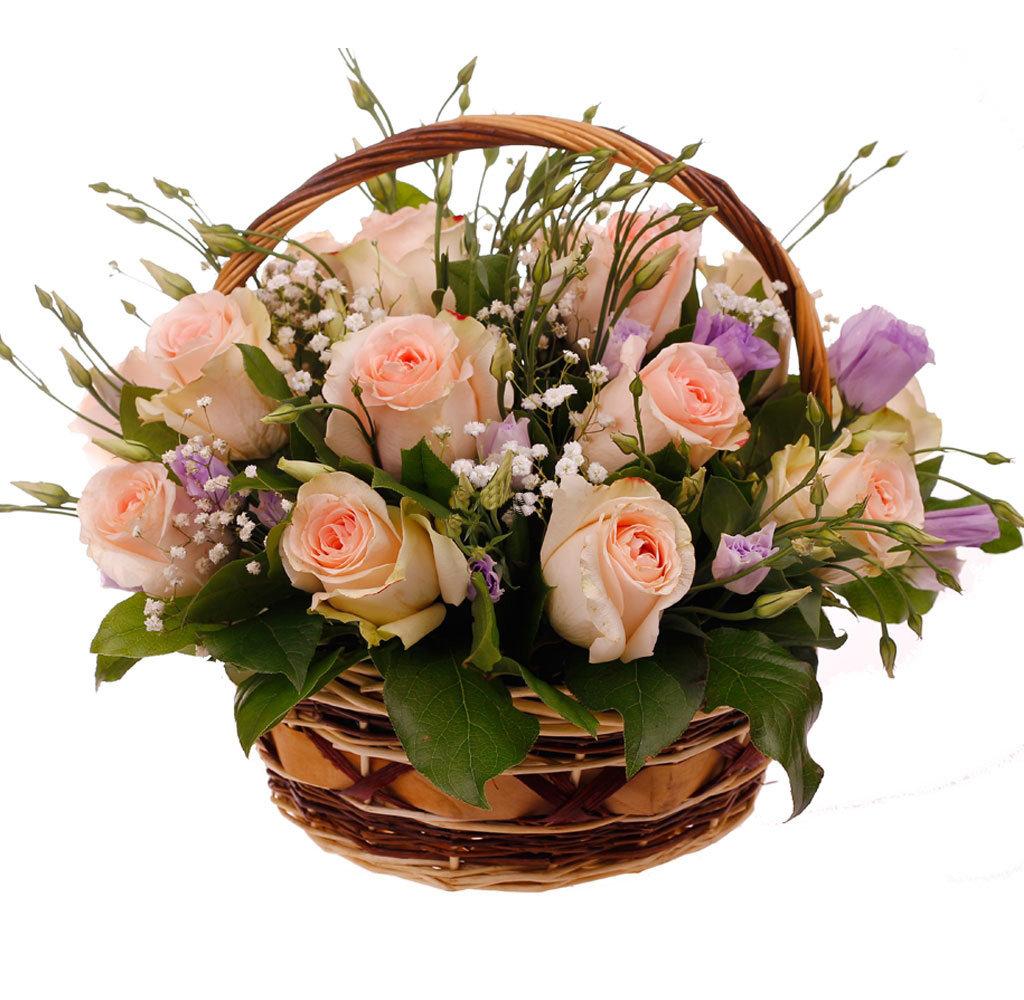 Цветы в корзине картинки красивые, картинку