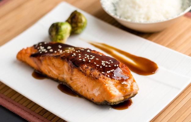 Рыба терияки рецепт с фото