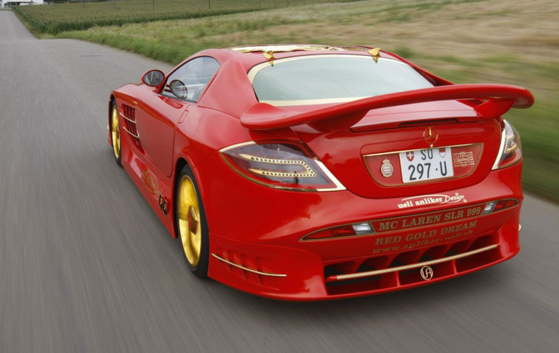 Mercedes-Benz SLR McLaren 999 Red Gold Dream Ueli Anliker