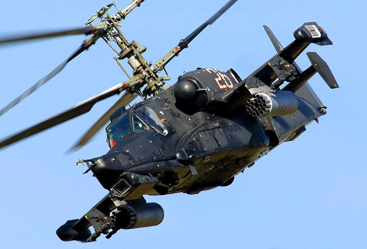 Conheça o tanque voador russo, o Kamov Ka-50