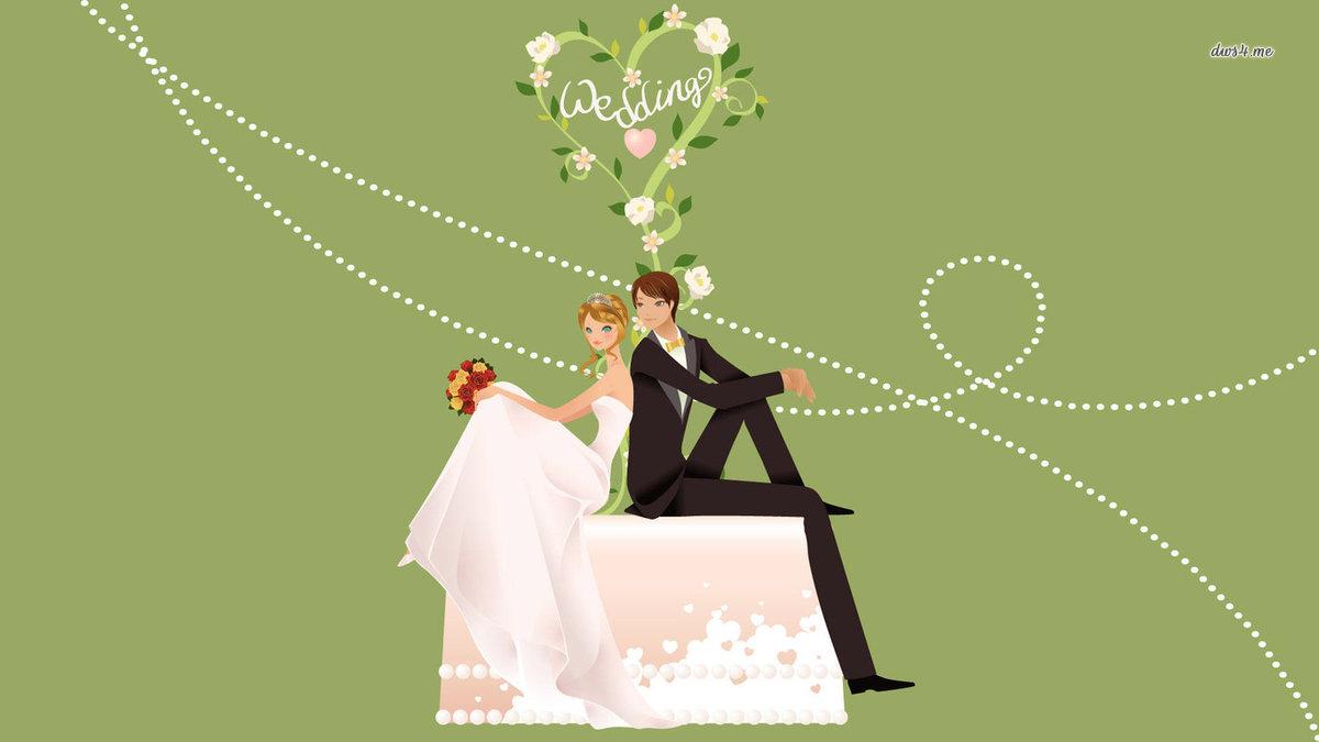 Картинки, дизайнерские открытки с днем свадьбы
