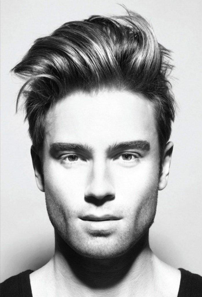 Мужские причёски с длинной чёлкой