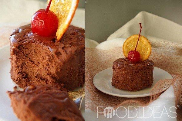 шоколадный десерт со взбитыми сливками французский рецепт
