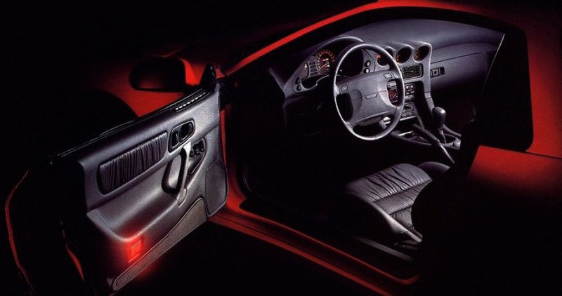 Интерьер Mitsubishi 3000GT