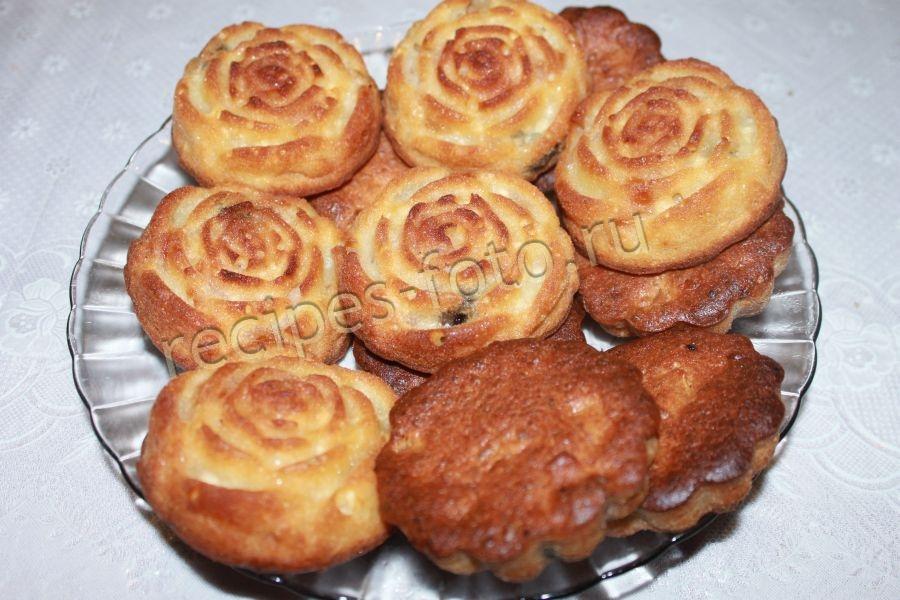 творожные кексы в духовке рецепт с фото