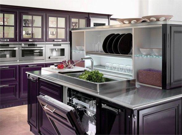 Встроенная кухонная техника. Дизайн помещений.