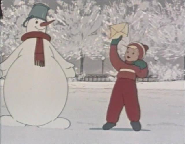 Снеговик почтовик. скачать