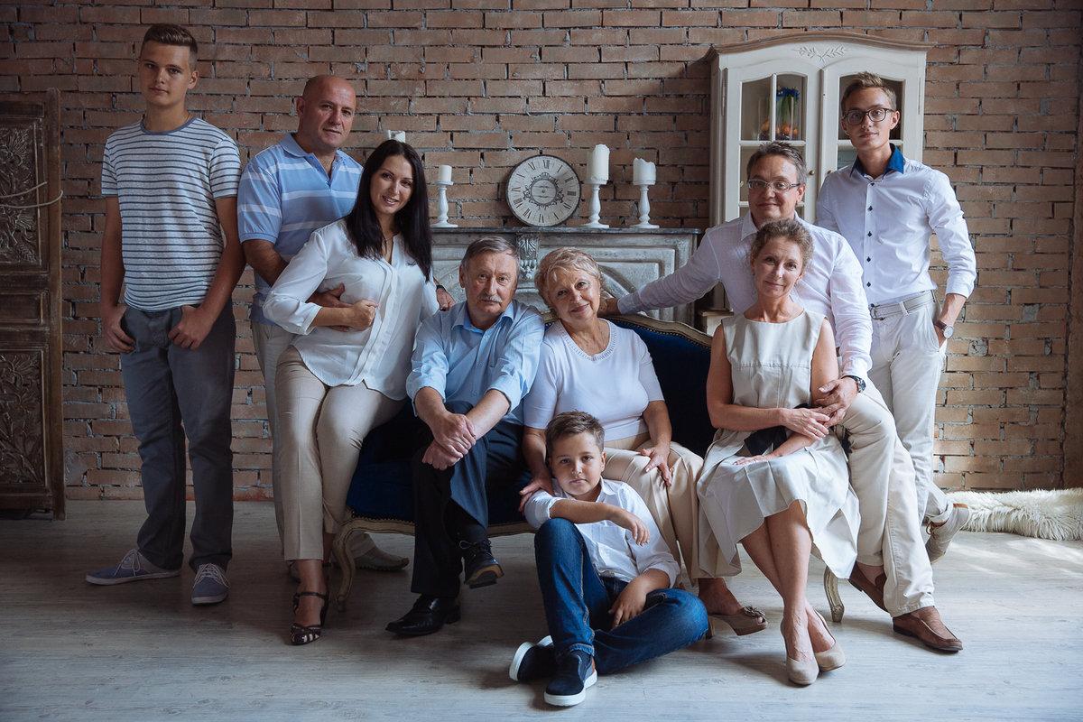 чего постановочные фотографии большой семьи выбором кузова
