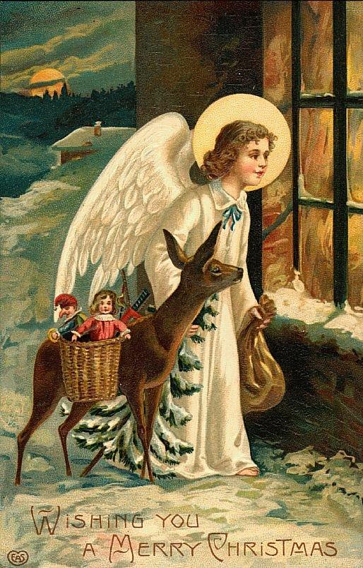 Православные открытки ангелы