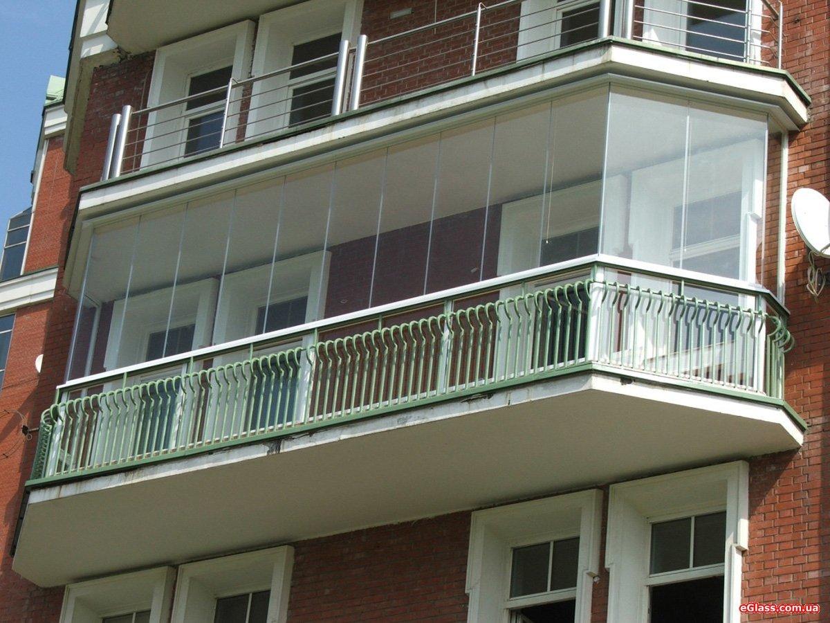 """Панорамное остекление ленточного балкона"""" - карточка пользов."""
