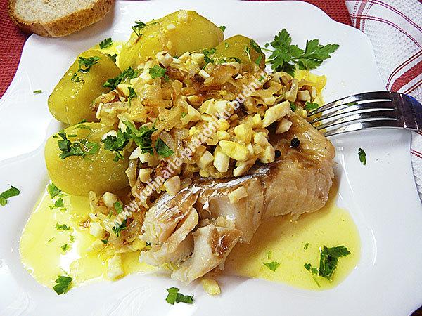 Рецепт рыба по польски с подливкой