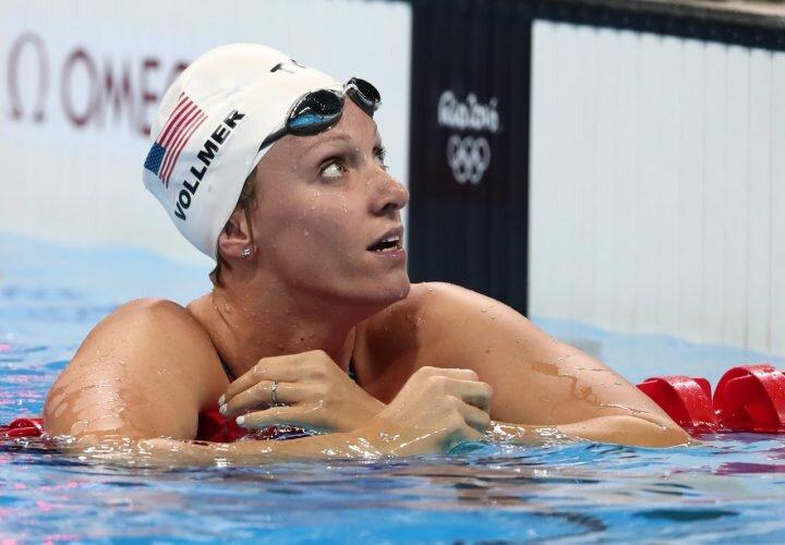 Дана Воллмер. Плавание 100 м баттерфляем. США. Бронза