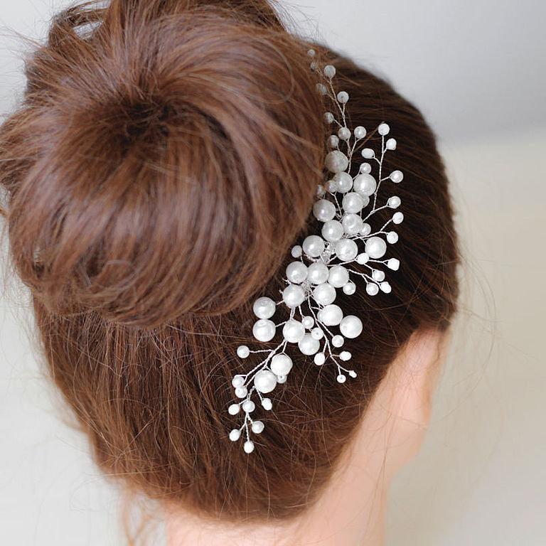 Элегантное украшение для волос