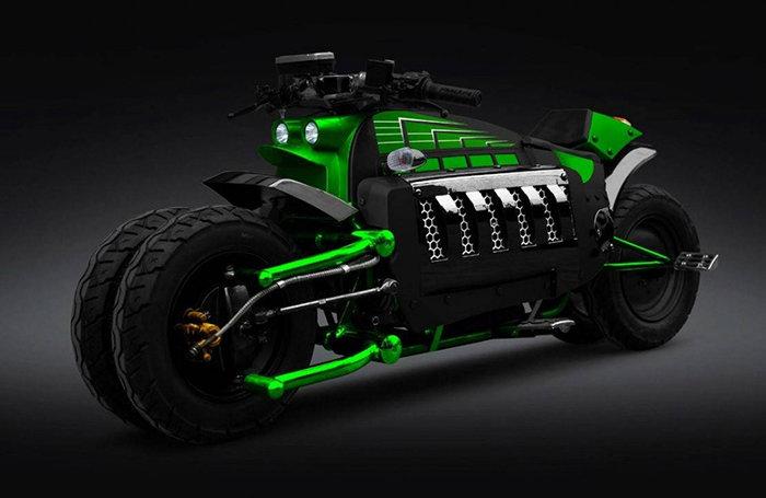 Супер мотоцикл Dodge Tomahawk V10