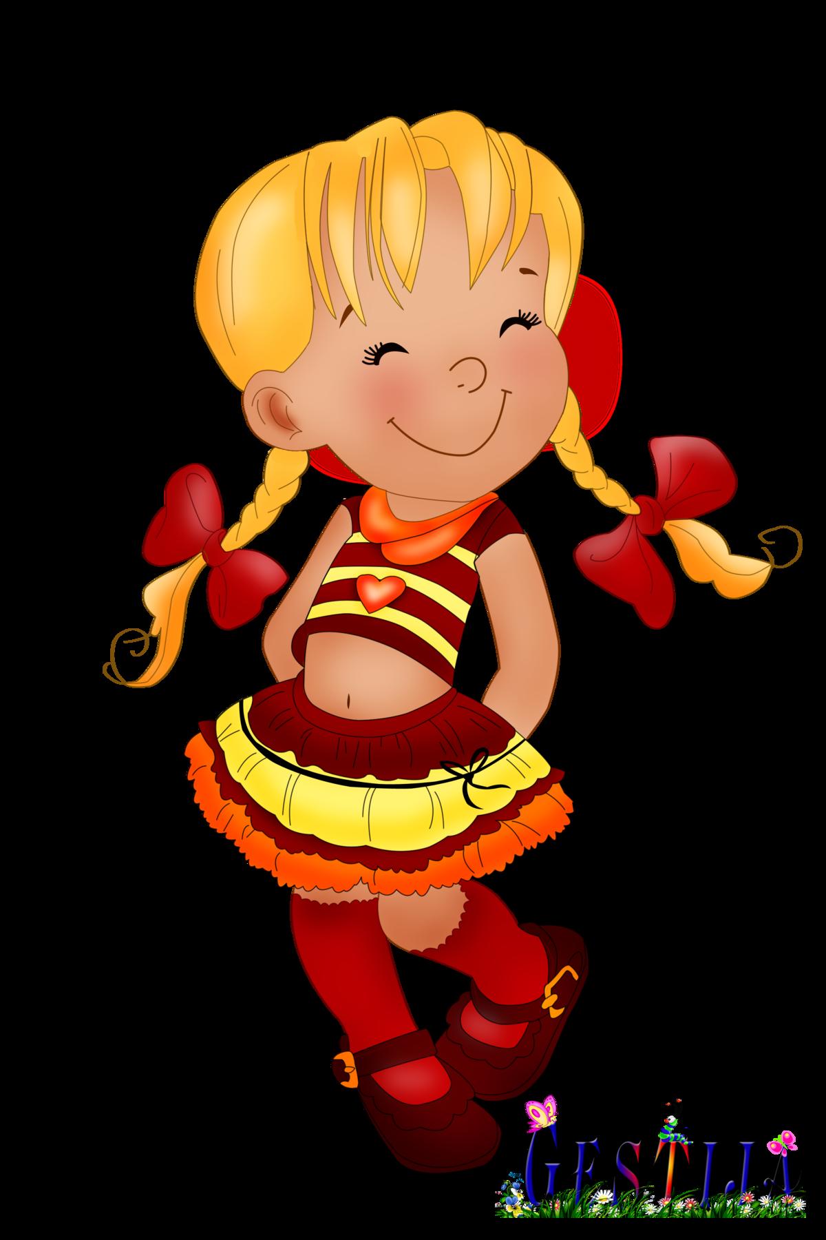 Анимашки картинки девочка