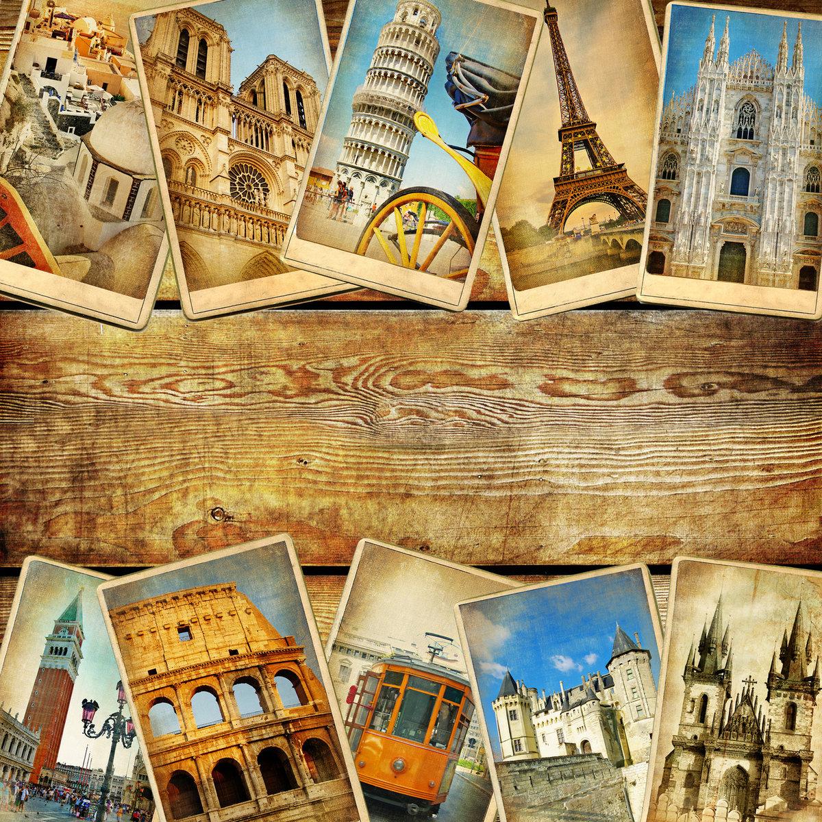 Мем картинки, открытки с видами европы
