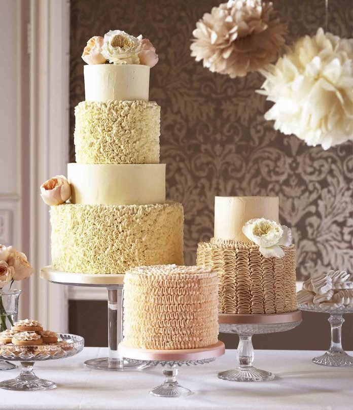 Торт на свадьбу 2017